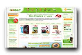 screenshot de www.zooplus.fr