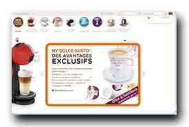 screenshot de www.dolce-gusto.fr