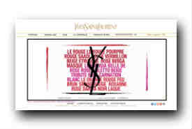 screenshot de www.ysl-parfums.com