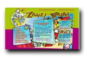 screenshot de www.zanzi-boum.fr