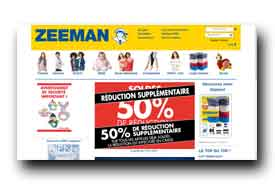 screenshot de www.zeeman.com