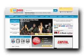 screenshot de www.zepass.com