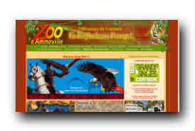 screenshot de www.zoo-amneville.com