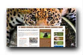 screenshot de www.zoobeauval.com