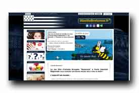 screenshot de www.abeillebretonne.fr