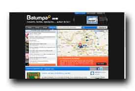 screenshot de www.balumpa.com/fr