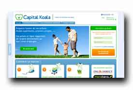 screenshot de www.capitalkoala.com