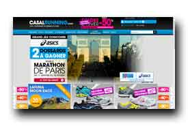 screenshot de www.casal-running.com