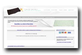 screenshot de www.clavier-portable.com
