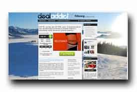 screenshot de www.dealaddict.ch