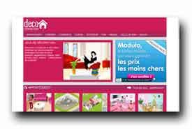 screenshot de www.decoconnection.com