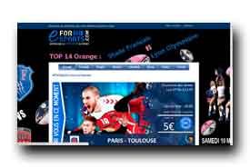 screenshot de www.eforsports.com