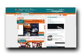 screenshot de www.enjoymytribu.com