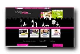 screenshot de www.envies-en-ville.com