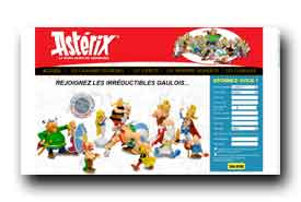 screenshot de www.grandesfigurines-asterix.com