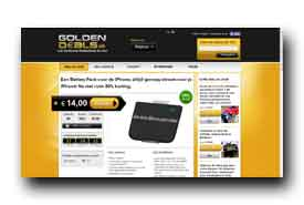 screenshot de http://www.goldendeals.be
