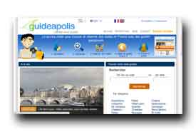 screenshot de www.guideapolis.fr