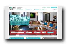 screenshot de www.housetrip.com