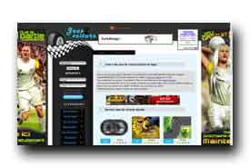 screenshot de www.jeux2voiture.org