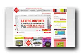 screenshot de www.leaderprice.fr