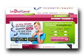 screenshot de lebootcamp.com/minceur