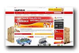 screenshot de www.liquid-stock.com