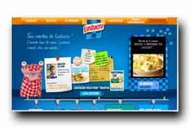 screenshot de www.lustucru-selection.fr/produits/les-lunch-box