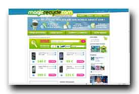 screenshot de www.magicrecycle.com