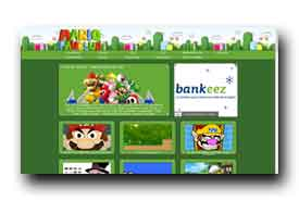 screenshot de www.mariofanclub.com