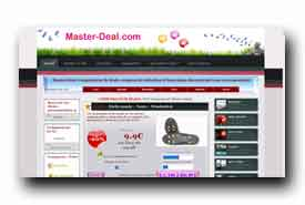 screenshot de www.master-deal.com