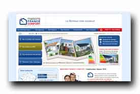 screenshot de www.maisons-france-confort.fr