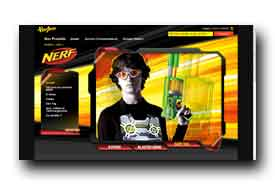 screenshot de www.nerf.fr