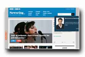 screenshot de www.newsring.fr