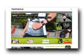 screenshot de www.tomtom.com/landing_pages/nikesportwatch/fr_fr/gps-running-watch