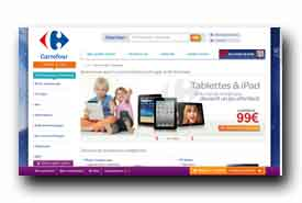 screenshot de online.carrefour.fr