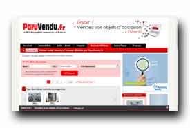 screenshot de www.paruvendu.fr/bonnesaffaires/