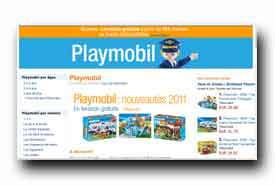 screenshot de www.amazon.fr/playmobil