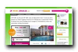 screenshot de www.realdeals.ch