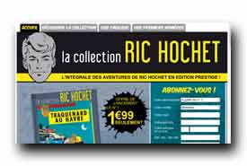 screenshot de www.richochet-collection.com