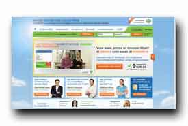 screenshot de www.savoirreduiresoncholesterol.com
