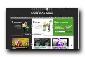 screenshot de www.soonsoonsoon.com