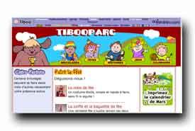 screenshot de www.tibooparc.com/deguisements00.htm