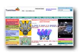 screenshot de www.tomlitoo.com