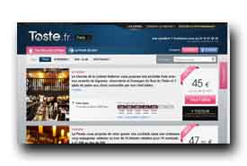 screenshot de www.toste.fr