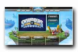 screenshot de universe.skylanders.com