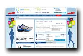 screenshot de www.univers-running.com