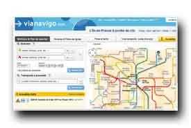 screenshot de www.vianavigo.com