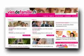 screenshot de www.viesdefamille.fr