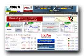 screenshot de fr.advfn.com