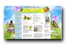 screenshot de www.grainesetplantes.com